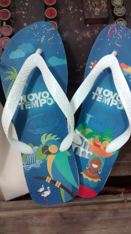 Chinelo Customizado para Eventos Minas Gerais - Chinelos Customizados Havaianas